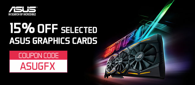 ASUS Graphics Card Sale