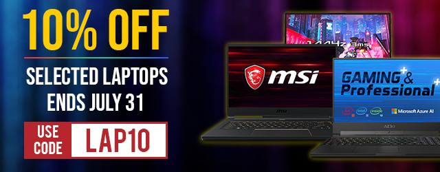 10% Off Selected Laptops !