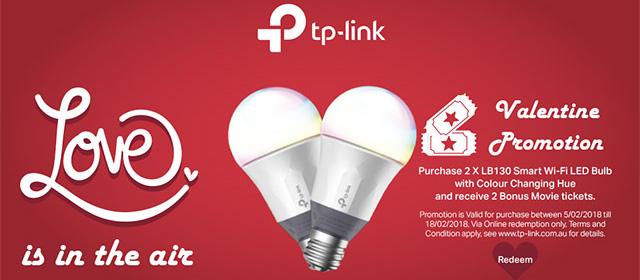 TP-Link Valentine's Promo