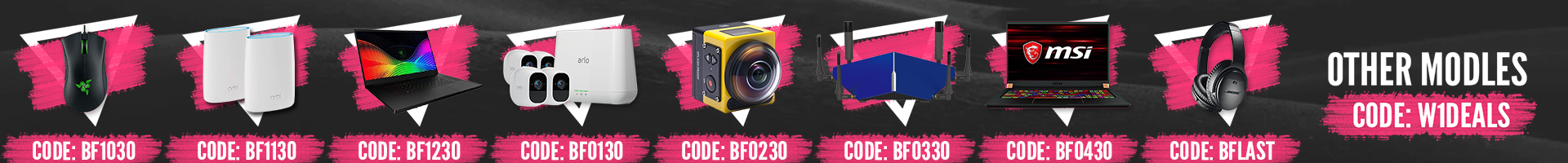 Wireless 1 Black Friday Promotion 2019