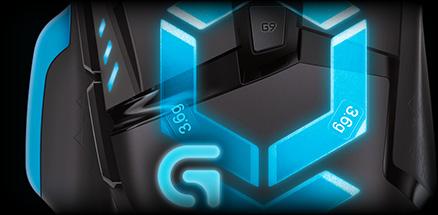 logitech g502 weight & balance control