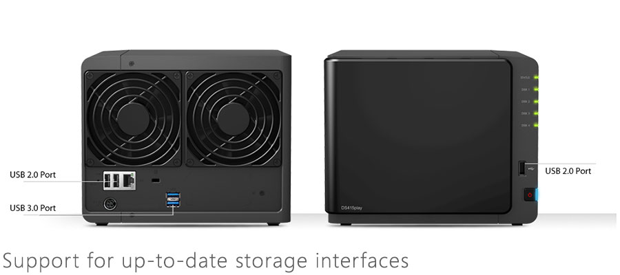 synology ds415play 4 bay nas diskless wireless 1