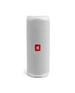 JBL Flip 5 Portable Bluetooth Speaker - White