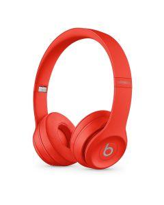 Beats by Dre Solo3 Wireless On-Ear Headphones - Red