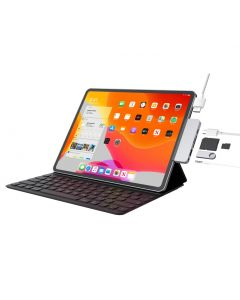HyperDrive 6 Port USB-C Hub for iPad Pro - Silver