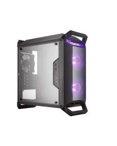 Cooler Master MasterBox Q300P RGB mATX case with Transparent Acrylic Side Panel