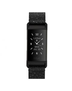 Fitbit Charge 4 SE Special Edition Fitness Tracker with GPS - Granite