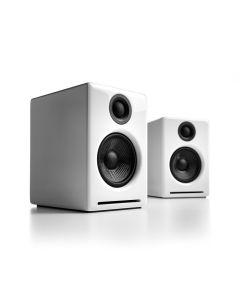 Audioengine A2+ Wireless Desktop Speakers - Gloss White
