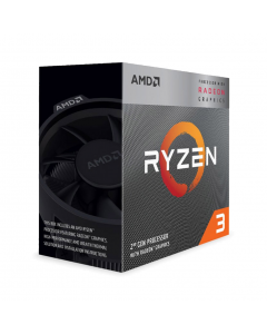 AMD Ryzen 3 3200G 4 Core Socket AM4 3.6GHz CPU Processor with Wraith Stealth Cooler