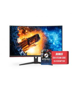 AOC C32G2E 31.5in 165Hz FHD 1ms FreeSync VA Curved Gaming Monitor