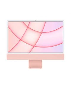 Apple M1 24-inch iMac with Retina 4.5K display 8-core CPU and 7-core GPU 256GB - Pink MJVA3X/A