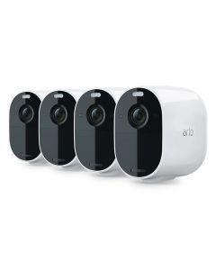 Arlo Essential Spotlight 4 Camera Wire-Free 1080p Color Night Vision  VMC2430-100AUS