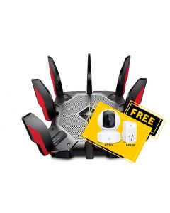TP-Link Archer AX11000 Next-Gen 802.11ax Wi-Fi 6 Tri-Band Gaming Router