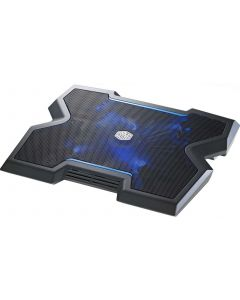 Cooler Master NotePal X3 Cooling Pad - 20CM Blue LED Fan (Fits up to 17)