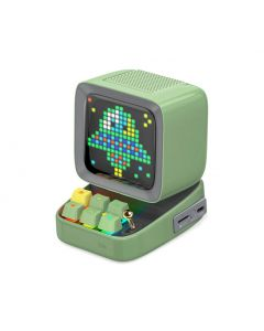 Divoom Ditoo Plus Pixel Art Bluetooth Speaker - Green