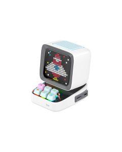 Divoom Ditoo Digital Pixel Art Gaming Bluetooth Speaker - White