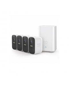 eufy 2C Wire-Free HD Security 4 Camera Kit with Home Base T8833CD2