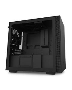 NZXT H210i Smart Mini ITX Gaming Computer Case - Matte Black