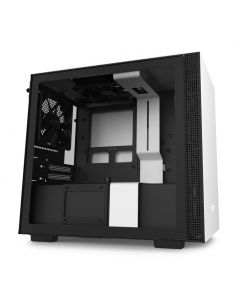 NZXT H210 Mini ITX Gaming Computer Case - Matte White