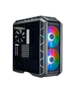 Cooler Master MasterCase H500P A.RGB Mid Tower ATX Computer Case with Tempered Glass - Black