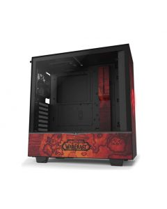 NZXT H510 Gaming ATX Mid Tower Computer Case - World of Warcraft Horde Edition