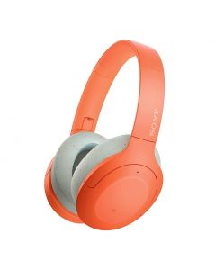 Sony WH-H910N Hi-Res Wireless Noise Cancelling Headphones - Orange