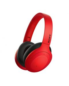 Sony WH-H910N Hi-Res Wireless Noise Cancelling Headphones - Red
