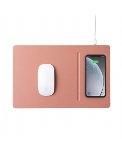 Pout Hands3 Pro Fast Wireless Charging Mouse Pad - Rose Beige