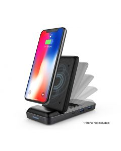 HyperDrive 8-in-1 USB-C Hub with 7.5W Wireless Charger