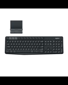 Logitech K375s Multi-device Wireless Keyboard and Stand Combo