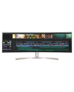 LG 49WL95C-WE 49inch UltraWide 5K Dual QHD IPS Curved Monitor