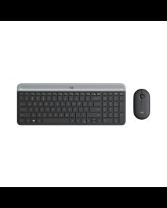 Logitech MK470 Slim Wireless Keyboard and Mouse Combo - Graphite