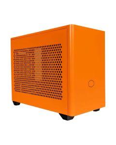 Cooler Master NR200P Mini ATX Computer Case - Sunset Orange