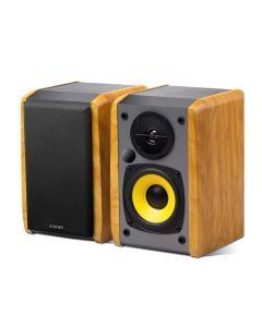 Edifier R1010BT 2.0 Bookshelf Speaker with Bluetooth - Brown