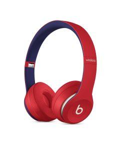 Beats by Dre Solo3 Wireless On-Ear Headphones - Club Red