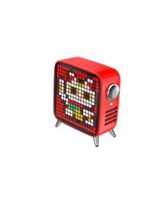 Divoom Tivoo Max Digital Pixel Art LED Bluetooth Speaker - Red