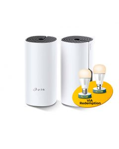 TP-Link Deco M4(2-pack) AC1200 Whole Home Mesh Wi-Fi System