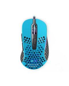 Xtrfy M4 Ultra-Light RGB Gaming Mouse - Miami Blue