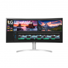 LG 38WN95C-W 38 Inch UltraWide QHD+ IPS Curved Monitor NVIDIA G-SYNC Compatibility
