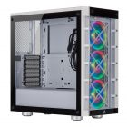 Corsair iCUE 465X ATX Mid Tower Smart Computer Case - White