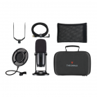 Thronmax MDrill One USB Microphone Studio Kit - Jet Black