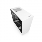 NZXT H511 Compact Mid Tower ATX Gaming Computer Case - Black/White
