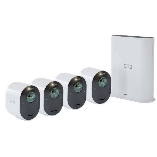 Arlo Ultra VMS5440-100AUS 4K Wire-Free Security 4 Camera System
