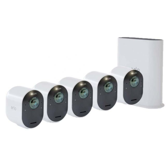 Arlo Ultra VMS5540 4K Wire-Free Security 5 Camera System