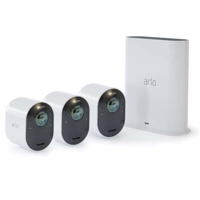 Arlo VMS5340-200AUS (VMS5240-200AUS + VMS5040-200AUS) Ultra 2 Spotlight 4K Camera (3 Pack)
