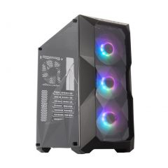 Cooler Master MasterBox TD500 Crystal ARGB Case ATX Mid Tower Tempered Glass Side Panel