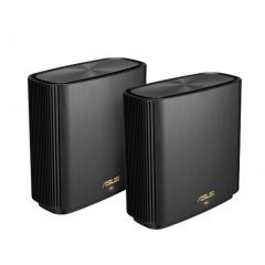 ASUS ZENWIFI XT8 AX6600 Wifi 6 Tri-Band Whole-Home Mesh Routers Black Colour (2 Pack)