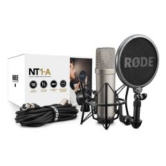 [Open Box] Rode NT1-A Studio Condenser Microphone Recording Package (NT1A)