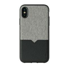 Evutec iPhone X / XS Northill Case with AFIX+ Magnetic Car Mount - Canvas/Black