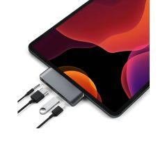 Satechi USB-C Mobile Pro Hub for iPad Pro 2018/2020 - Space Grey